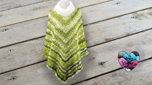 Poncho bambou Lidia Crochet Tricot
