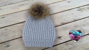 Bonnet Sibèrie tricot DIY Lidia Crochet Tricot