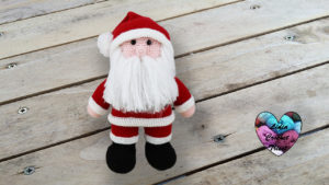 Père Noël Lidia Crochet Tricot crochet DIY Lidia Crochet Tricot