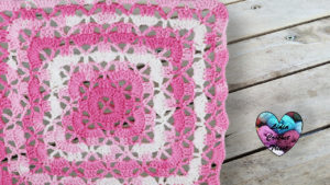 Point couverture Lidia Crochet Tricot