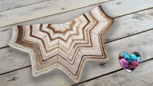 Châle Canada Lidia Crochet Tricot crochet DIY Lidia Crochet Tricot