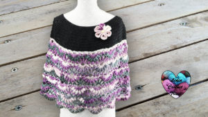 Cape Kameleon Lidia Crochet Tricot crochet DIY Lidia Crochet Tricot