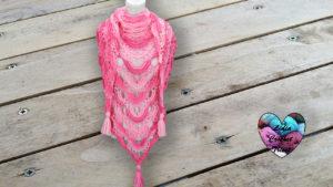 Châle Lady Lidia Crochet Tricot crochet DIY Lidia Crochet Tricot