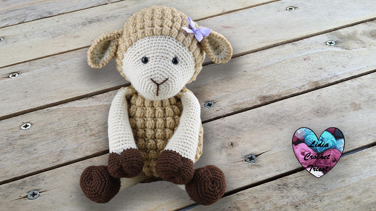 Amigurumi mouton agneau crochet Lidia Crochet Tricot crochet DIY Lidia Crochet Tricot