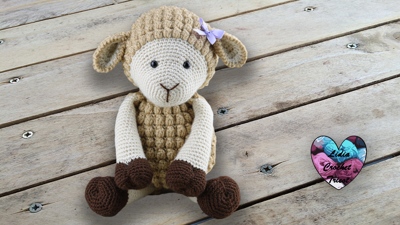 Amigurumi mouton agneau Lidia Crochet Tricot