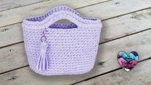 Panier TrapiXL Lidia Crochet Tricot