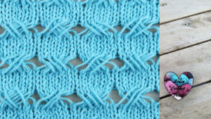 Points croisé tricot facile fait main tutoriel DIY Lidia Crochet Tricot