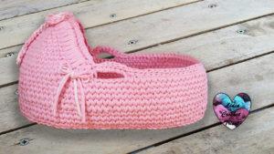 Moïse (couffin) crochet Lidia Crochet Tricot crochet DIY Lidia Crochet Tricot
