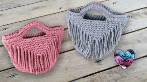Sac franges TrapiXL crochet Lidia Crochet Tricot crochet DIY Lidia Crochet Tricot
