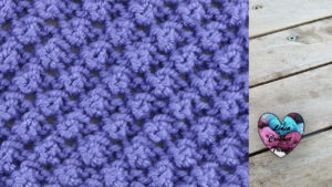 Point tricot petites noisettes tricot facile fait main tutoriel DIY Lidia Crochet Tricot