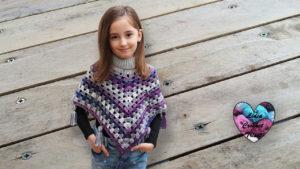 Poncho granny crochet Lidia Crochet Tricot crochet DIY Lidia Crochet Tricot