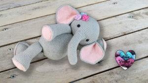 Amigurumi éléphant crochet Lidia Crochet Tricot crochet DIY Lidia Crochet Tricot