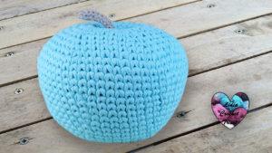 Pomme TrapiXL déco crochet Lidia Crochet Tricot crochet DIY Lidia Crochet Tricot