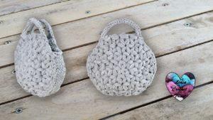 Sac Jasmin TrapiXL Lidia Crochet Tricot
