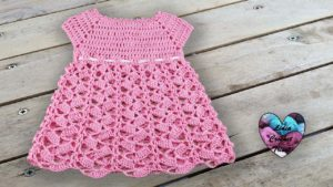 Robe crochet Lidia Crochet Tricot crochet DIY Lidia Crochet Tricot