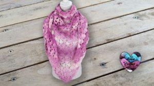 Châle asymétrique crochet Lidia Crochet Tricot crochet DIY Lidia Crochet Tricot