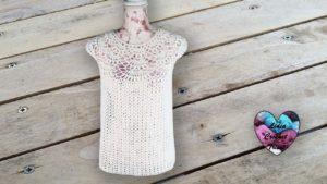 Blouse femme délicate crochet Lidia Crochet Tricot crochet DIY Lidia Crochet Tricot
