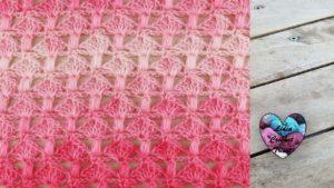 Point petits champignons crochet Lidia Crochet Tricot crochet tutoriel DIY Lidia Crochet Tricot