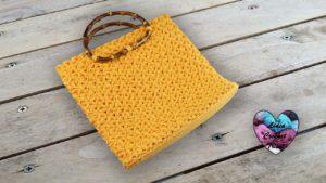 Sac à main Jasmin Lidia Crochet Tricot crochet DIY Lidia Crochet Tricot