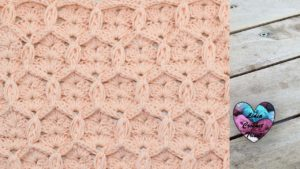 Point losanges en relief Lidia Crochet Tricot