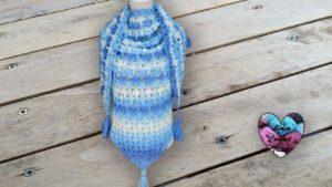 Châle petits champignons Lidia Crochet Tricot Lidia Crochet Tricot crochet DIY Lidia Crochet Tricot
