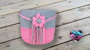 Panier TrapiXL déco Lidia Crochet Tricot Lidia Crochet Tricot crochet DIY Lidia Crochet Tricot