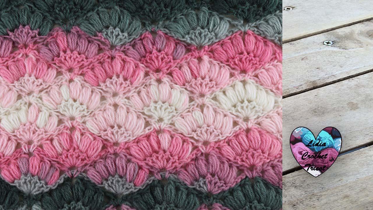 point ventails tutoriel au crochet pr sent par lidia crochet tricot. Black Bedroom Furniture Sets. Home Design Ideas