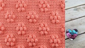 Point fleurs bubble Lidia Crochet Tricot