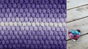 Point Popcorn tricot facile fait main tutoriel DIY Lidia Crochet Tricot