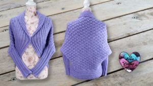 Gilet cocooning crochet Lidia Crochet Tricot DIY Lidia Crochet Tricot
