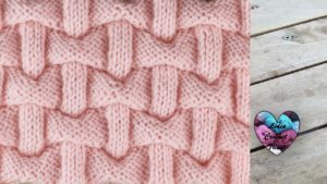 Point briques 3D Lidia Crochet Tricot