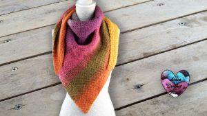Châle Lollipop Lidia Crochet Tricot DIY Lidia Crochet Tricot