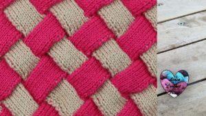 Point entrelac tricot Lidia Crochet Tricot