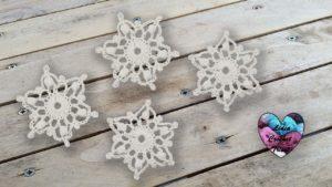 Flocons de neige crochet Lidia Crochet Tricot