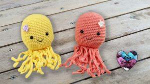 Poulpes Kawaii crochet Lidia Crochet Tricot