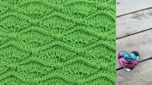 Point prairie crochet Lidia Crochet Tricot crochet tutoriel DIY Lidia Crochet Tricot