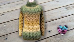 Pull câlin crochet Lidia Crochet Tricot