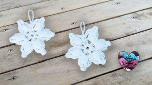 Mini flocons de neige Lidia Crochet Tricot