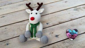 René le renne amigurumi Lidia Crochet Tricot