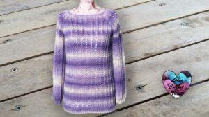 Pull Violeta Lidia Crochet Tricot