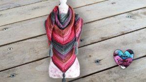 Châle Victoria Lidia Crochet Tricot
