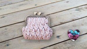 Porte-monnaie Vintage Lidia Crochet Tricot