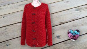 Cardigan Nina Lidia Crochet Tricot