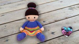Poupées Valentine Lidia Crochet Tricot