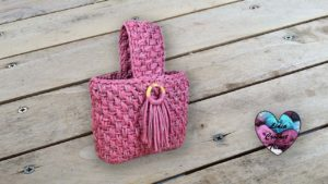 Sac Venus TrapiXL Lidia Crochet Tricot