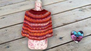 Cape Margarette Lidia Crochet Tricot