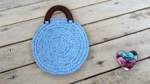 Sac rond tendance Lidia Crochet Tricot