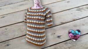 Blouse Caramel Lidia Crochet Tricot