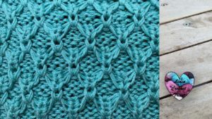 Point relief tricot Lidia Crochet Tricot