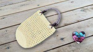 Sac cœurs Lidia Crochet Tricot